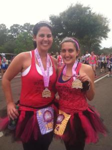 All smiles at the Disney Princess Half Marathon