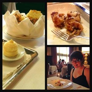 Beautiful food and company
