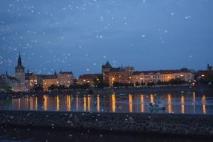 Beautiful Prague by night