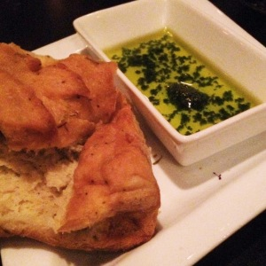 Was served this delish focaccia at Elixir in White River Junction, Vermont--they're fabulous.